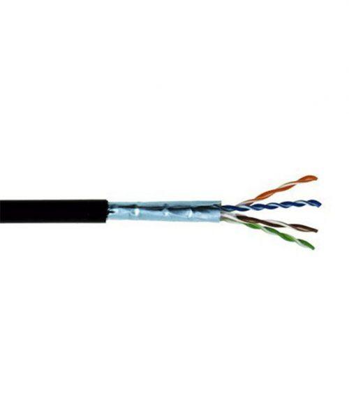 کابل شبکه بیرونی Dintek Cat5e FTP کد ۰۳۰۰۴-۱۱۰۳