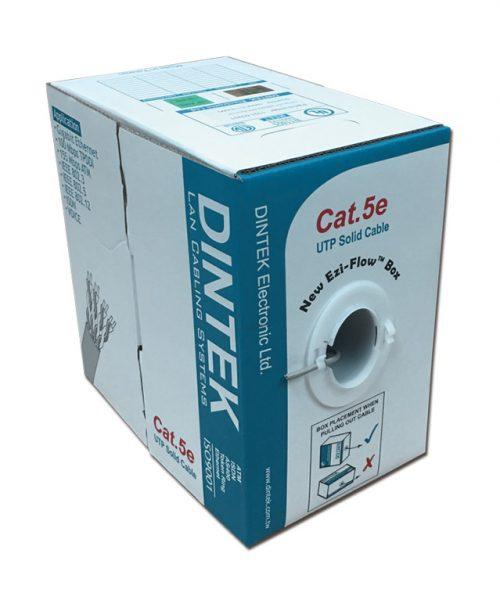کابل شبکه مسی ۴ زوج Dintek Cat5e