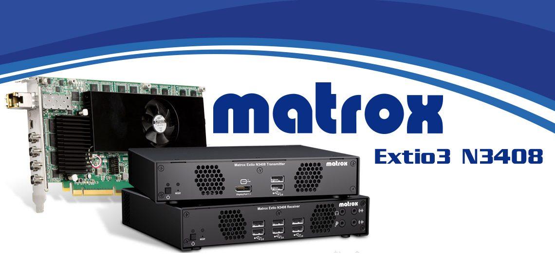 معرفی محصول جدید متراکس Extio 3 N3408 IP KVM Extender