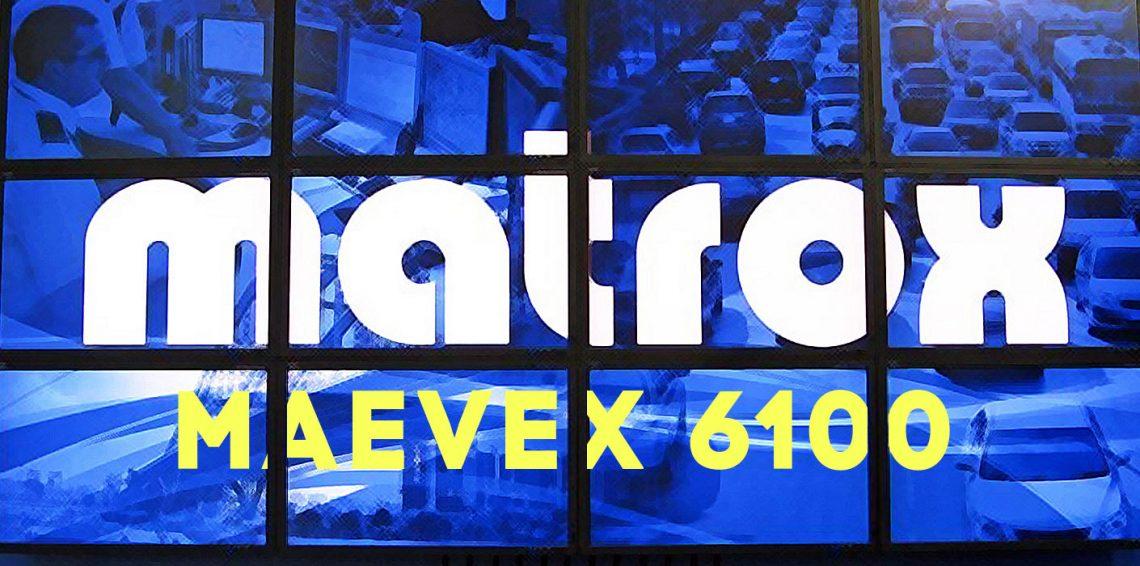 اولین تولیدات رمز گذار و رمز گشای جهان Matrox Maevex 6100