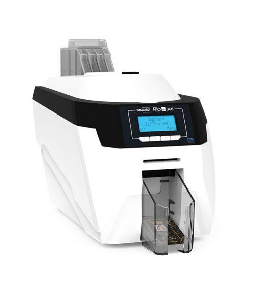 چاپگر کارت Magicard Rio Pro 360 جهت چاپ کارت شناسایی با روش چاپ مستقیم