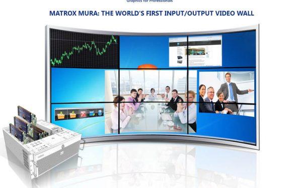 طراحی آسان ویدئووال با کارتهای Matrox